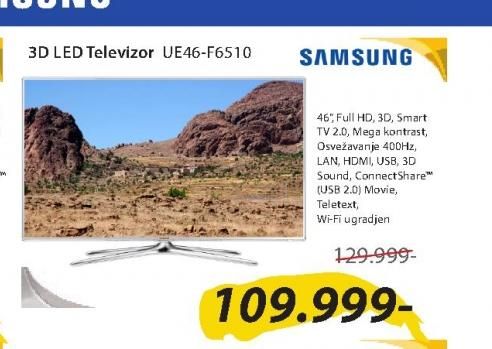 Televizor LED UE46-F6510