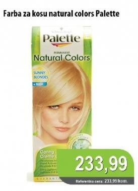 Farba za kosu Natural Colors
