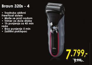 Aparat za brijanje 320s