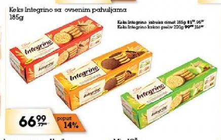 Keks integralni kakao
