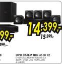 Dvd Sistem HTD 3510 12