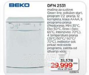 Sudomašina DFN 2531