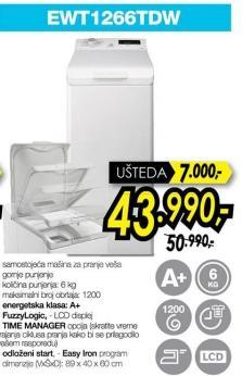 Mašina za pranje veša Ewt1266tdw