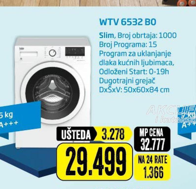 Veš mašina WTV 6532 BO