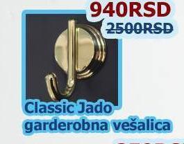 Garderobna vešalica Classic Jado