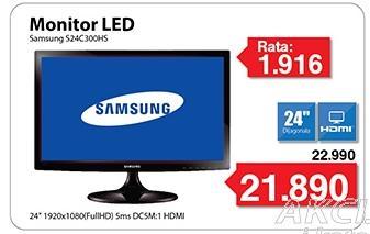 """Monitor LED 24"""" S24c300hs"""