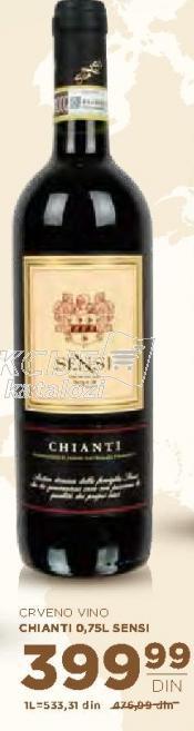 Crveno vino Chianti