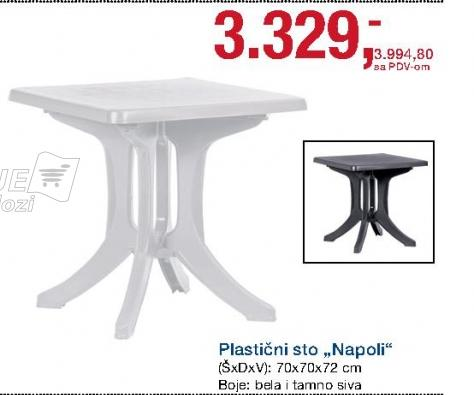 Sto plastični Napoli