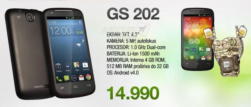 Mobilni telefon Gsmart Gs 202