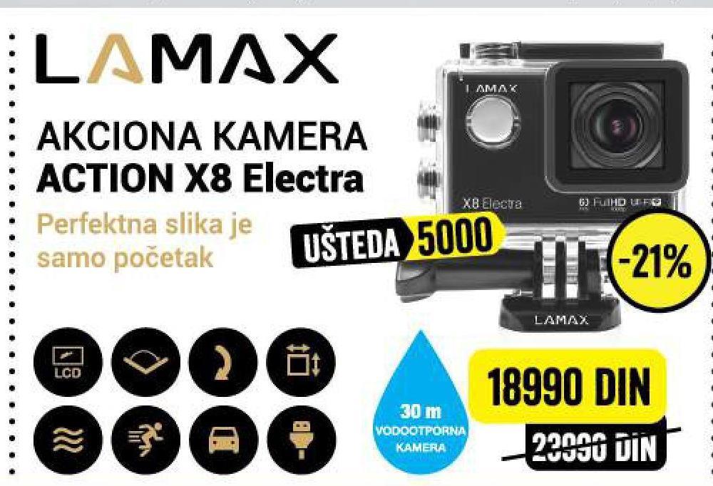 Akciona Kamera X8