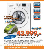 Mašina za pranje veša WF70F5E0W2W/LE