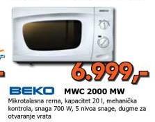 Mikrotalasna Rerna MWC2000MW