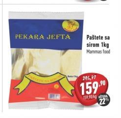 Smrznuta pašteta sir