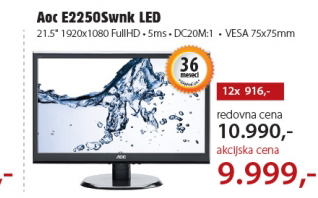 Monitor LED E2250Swnk