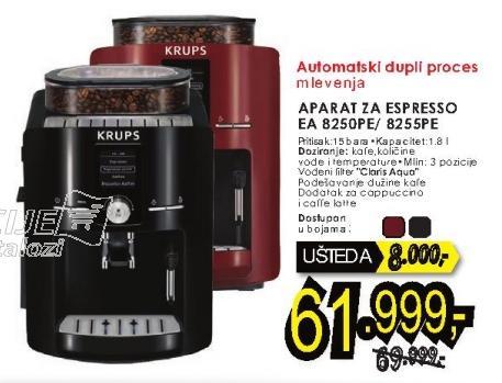 Aparat za espresso 8255pe Krups