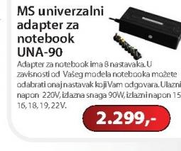 Univerzalni adapter za notebook