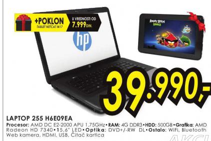 Laptop 255 H6E09EA