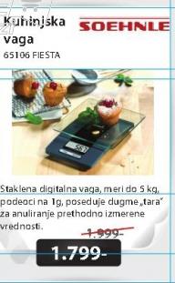Kuhinjska vaga 65106 FIESTA