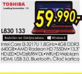 Laptop Satellite L830-133