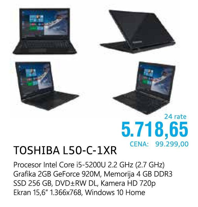 Laptop L50-C-1XR
