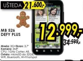 Mobilni telefon MB 526 DEFY PLUS