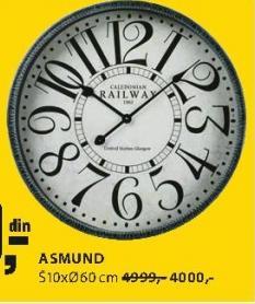 Zidni sat Asmund
