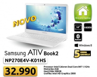 Laptop ATIV Book2 270 - NP270E4V-K01HS