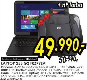 laptop 255 G2 F0z79ea + Poklon HP torba