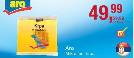 Mikrofiber krpa