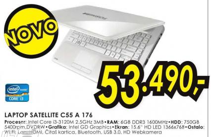 Laptop Satellite C55-A-176