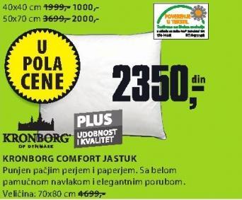 Jastuk Comfort 50x70