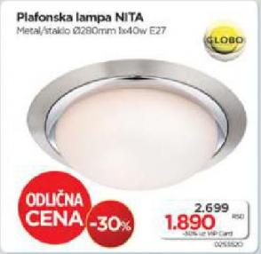 Plafonska lampa Nita