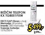 Bežični teleson Kx Tg8051fxw