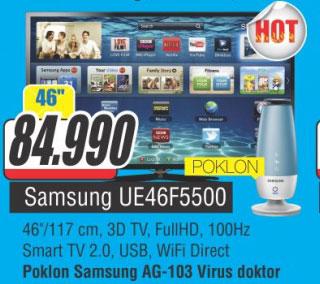 LED Televizor UE46F5500+poklon