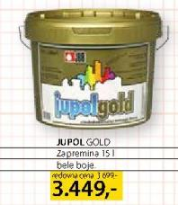 Boja za unutrašnj zidove Jupol Gold