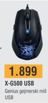 Miš X-G500 USB