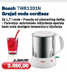 Aparat za kuvanje vode TWK1201N
