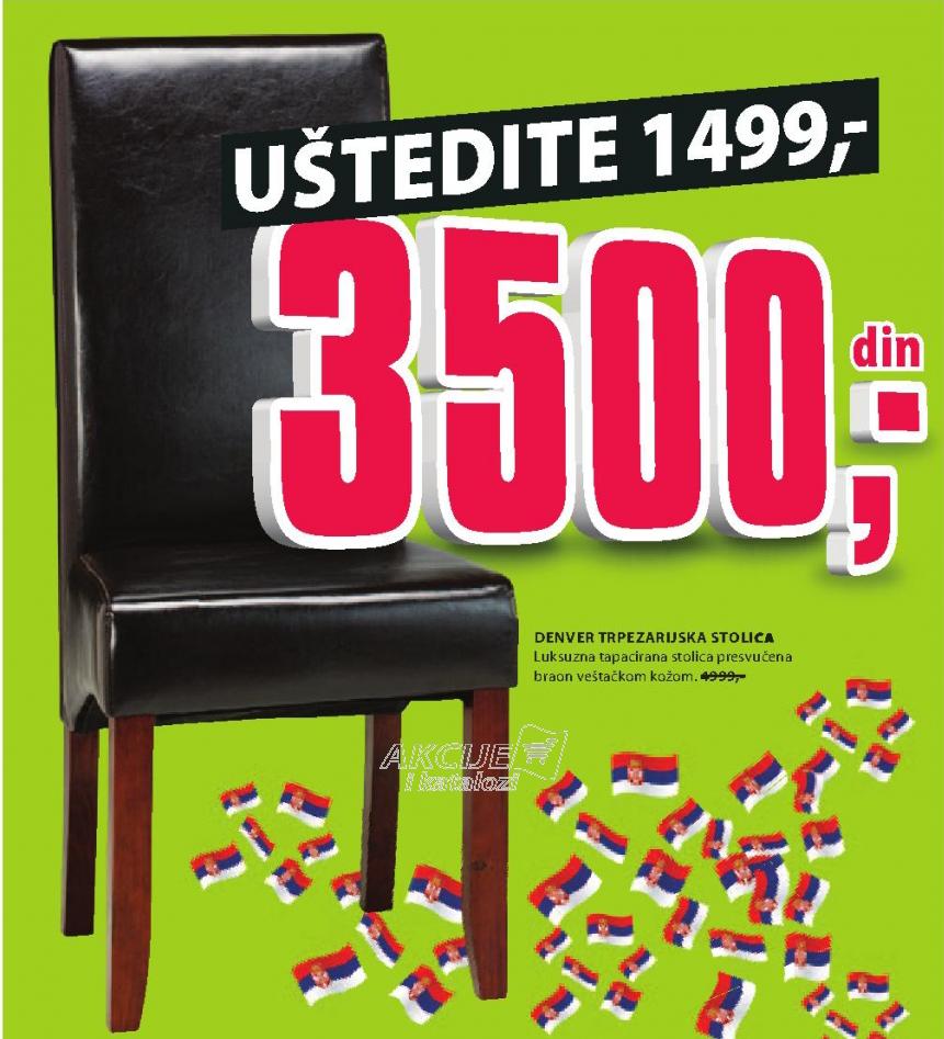 Trpezarijska stolica Denver