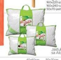 Jastuk Natural sa Aloe verom
