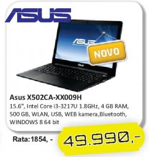 Laptop X502ca-Xx009h