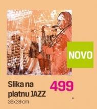 Slika na platnu Jazz