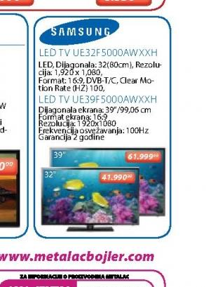 LED Televizor UE39F5000