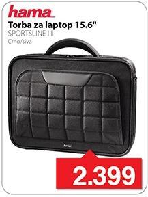 """Torba za laptop 15,6"""" Sportline III"""