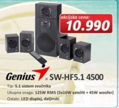 Zvučnici 5.1 SW-HF 4500