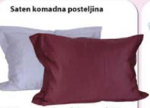 Saten komadna posteljina
