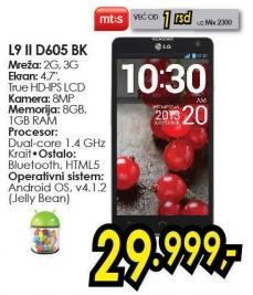 Mobilni telefon L9 II D605 Bk