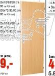Drvena sobna vrata,trešnja, štok 10cm