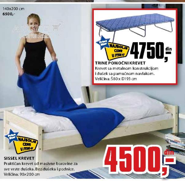 Krevet Sisel 140x200 cm