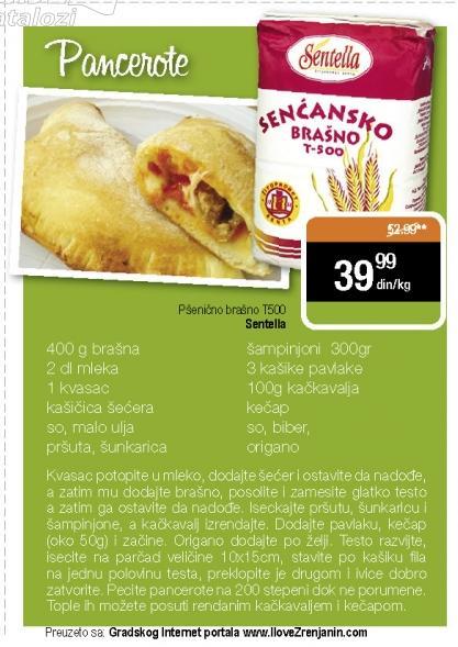 Recept - Pancerote