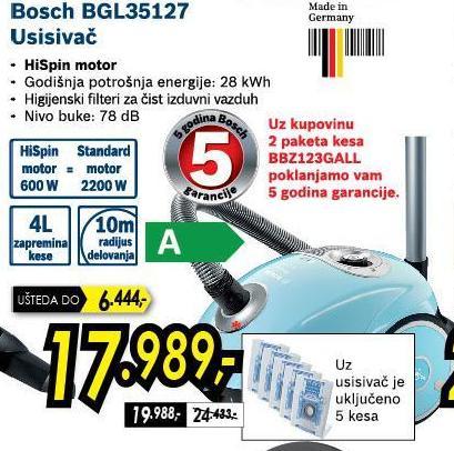 Usisivač Bgl35127